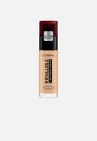 L'Oreal Paris - Infallible 24hr liquid foundation - 120 vanilla