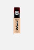 L'Oreal Paris - Infallible 24hr liquid foundation - 125 natural rose