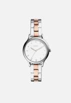Fossil - Laney - silver & rose gold