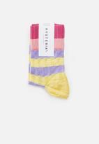 Hysteria - Helen crew socks - multi