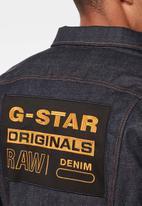 G-Star RAW - Originals 3301 slim fit jacket - blue