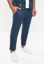 Only & Sons - Linus wide leg cropped pants - blue