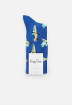 Happy Socks - Parrot socks - blue