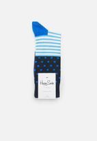 Happy Socks - Stripe & dots sock - multi