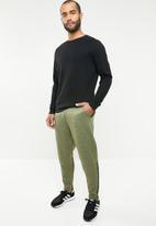 adidas Performance - ZNE mesh pant - khaki