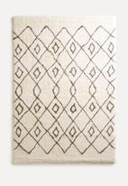 Fotakis - Nara shaggy rug - cream/grey
