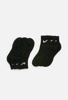 Nike - Nike everyday cushion 3 pack ankle socks - black