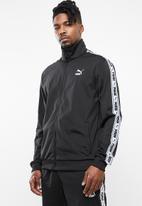 PUMA - Tape track jacket - black & white