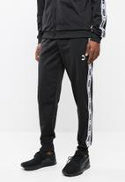 PUMA - Tape track pants - black & white