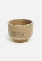 Sixth Floor - Iris wooden bowl