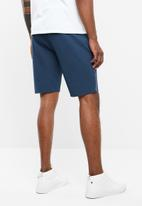 Only & Sons - Aged stripe shorts - navy