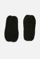 Falke - Invisibles 2 pack socks - black