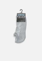 Falke - Silver cushion no show socks - ash melange