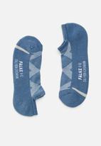 Falke - Silver cushion no show socks - blue