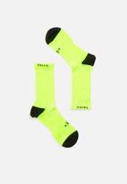 Falke - Everyday sport crew socks - green & black