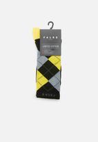 Falke - Argyle crew socks - multi