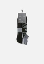 Falke - Everyday sport socks - black & grey