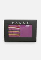 Falke - Quantum & sensitive stripe gift box - multi