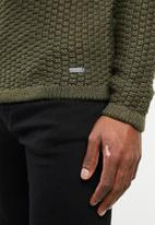 Only & Sons - Turtle neck knit - olive