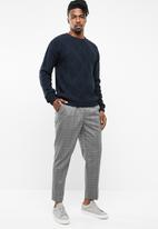 Cotton On - Cable knit sweater - navy