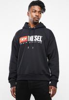 Diesel  - S-division hoodie - black