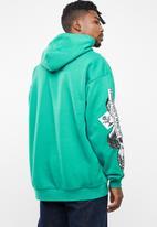 Diesel  - S-jack-ya hoodie - green