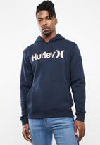 Hurley - Surf check one & only pop hoody - navy