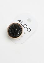 ALDO - Casarei ring - black & gold