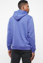 Hurley - Surf check one & only pop hoodie - blue