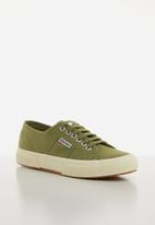 SUPERGA - 2750 Cotu classic canvas - b63 green cap olive