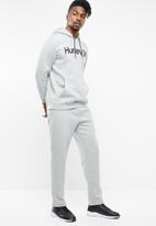 Hurley - Surf check one & only pop hoody - grey