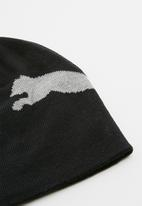 PUMA - Ess big cat logo beanie - black