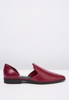 Cotton On - Croc open waist flat - burgundy