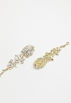STYLE REPUBLIC - Statement earrings - gold