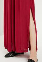edit - Bardot maxi dress - red