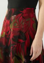 edit - Maxi a-line skirt - multi