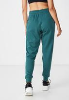 Cotton On - Gym track pants  - green