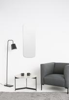 Native Decor - Rounded rectangular frameless mirror - regular