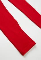 POP CANDY - Kids 2 pack leggings - navy & red