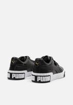 PUMA - Cali bold wn's - puma black-metallic gold