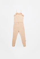 POP CANDY - Girls stretched jumpsuit - peach