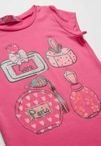 POP CANDY - Love paris short sleeve shirt - pink