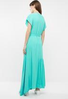 STYLE REPUBLIC - Oversized tier dress - blue
