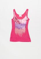 POP CANDY - Big girls sequin vest - pink