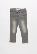 MINOTI - Girls basic denim jean -  grey