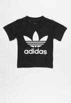 adidas Originals - Trefoil tee adidas - black & white