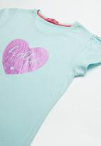 POP CANDY - Bg short sleeve tee - blue