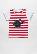 POP CANDY - Stripe helicopter tee - multi