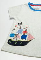 POP CANDY - Pirate ship tee - grey