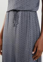 edit - Sleeveless maxi dress - grey